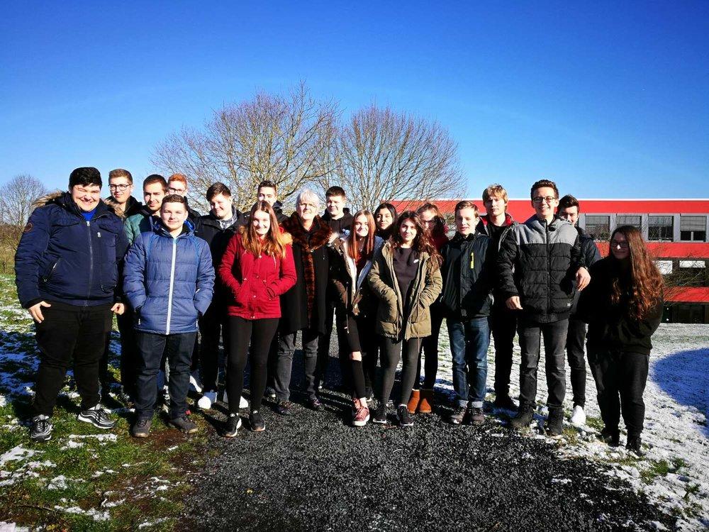 Klasse 10a der Heinrich-Roth-Realschule plus
