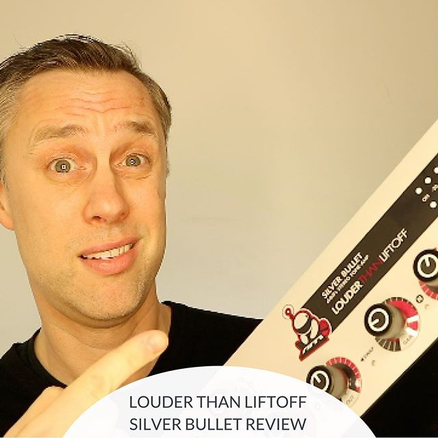 NEW VIDEO REVIEW : Louder Than Liftoff - Silver Bullet...(link in bio)⠀ ⠀ ⠀ #mastering #mixing #proaudio #review