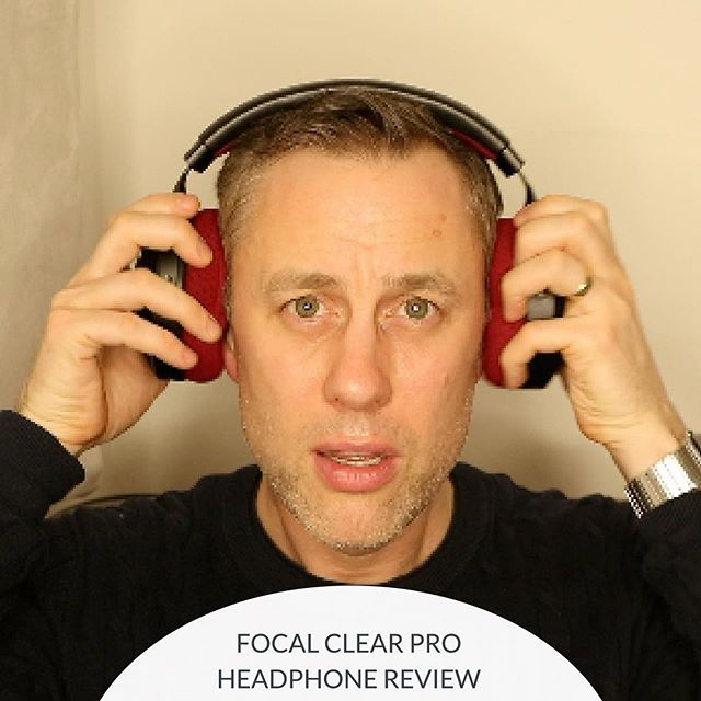 NEW REVIEW : Focal Clear Pro Headphones (link in bio)