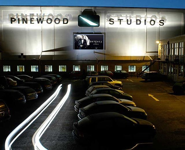 We have a new studio location in Pinewood Studios...attended sessions just became a bit more interesting!