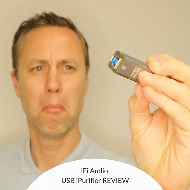 SNAKE OIL ??? You decide - iFi Audio USB IPurifier Review⠀ ⠀ https://youtu.be/1i-BSxDQbFo ⠀ ⠀ #hifi #stereophile #audiophile