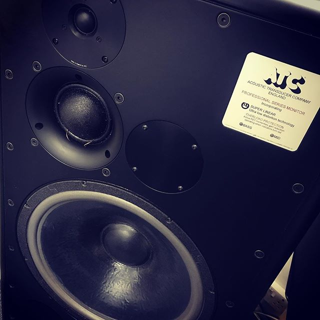 These are a touch larger than I expected !!! #atc #mastering #monitors