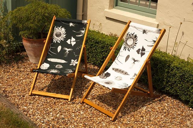 Make the most of the summer with our exclusive range of deckchairs - slings also available to order separately. See our full range of designs inspired by the native flora of South Africa at www.jalu.co.uk/Clinton-Friedman #deckchairs #homesandgardens #southafricandesign #inspiredbynature #monochrome #englishgarden #gardenchair #gardenstyle #luxuryliving #clintonfriedman #bloggerstyle #protea #journorequest #exclusivedesign #outdoorlifestyle #newbrand