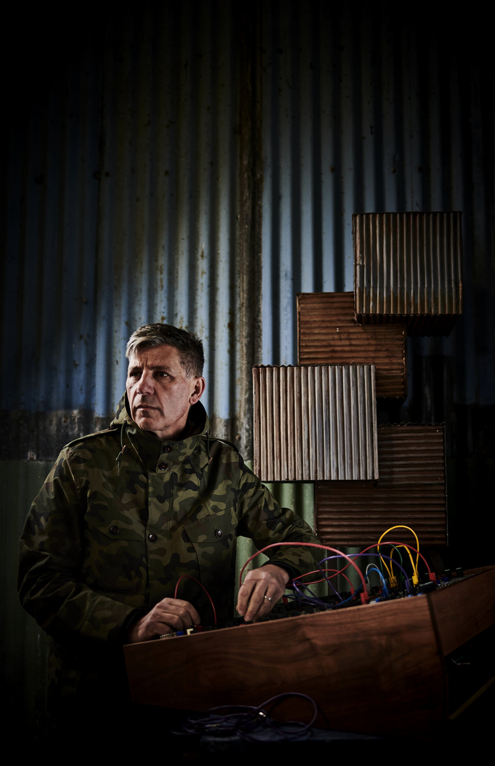 Chris Whitten, legendary drummer, modular synth authority and downtempo electronic music producer Circles And Ellipses