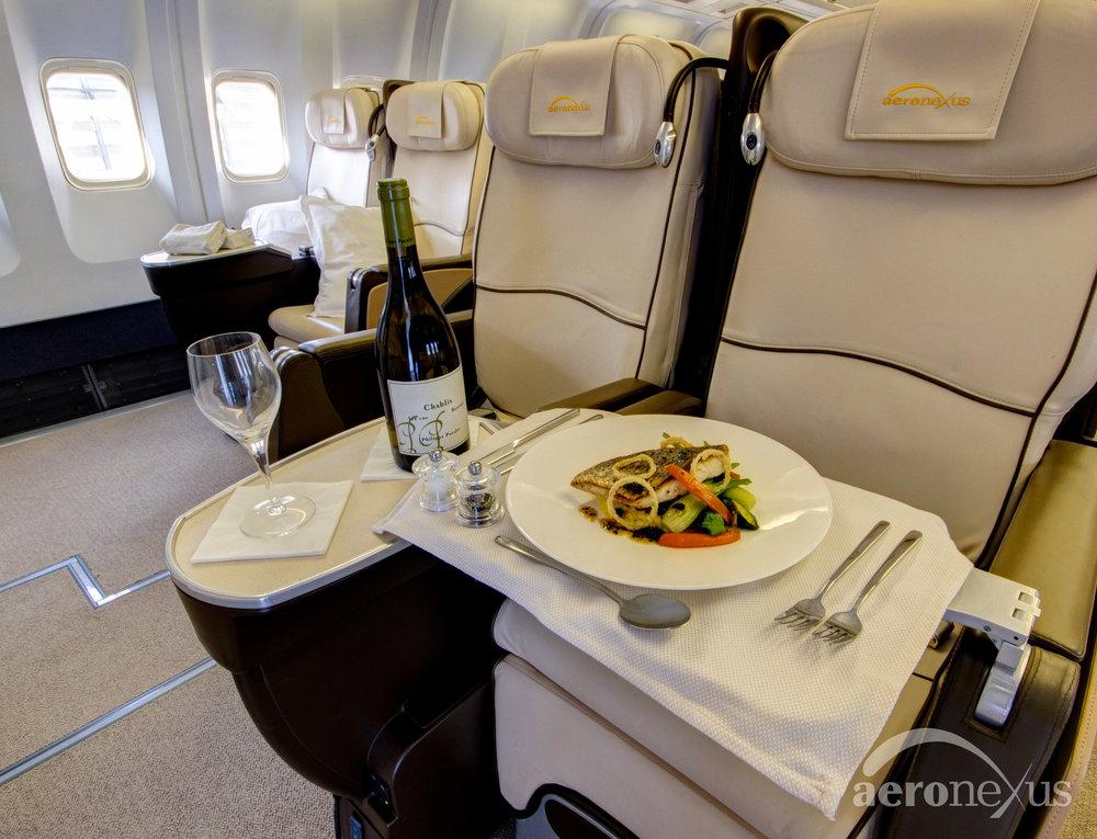 Aeronexus | VIP Boeing 767-300ER | Interior Catering