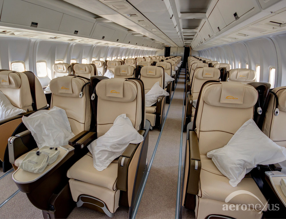 Aeronexus | VIP Boeing 767-300ER | Interior Seating