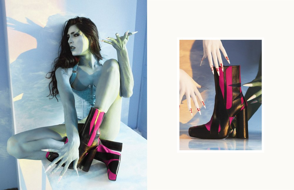 Gender-fluid shoes, non-binary shoes,  queer shoes,  high-end leather goods,  Antwerp designer, Adult accessories, Adult shoes, Adult. Antwerp