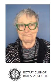 Heather Horrocks - Rotary Club of Ballarat South Award for Visual and Performing Arts.