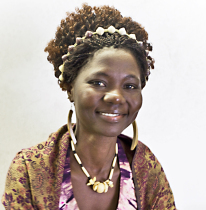 Jane Ekayu, F ounder and Executive Director of Children of Peace Uganda (CPU)