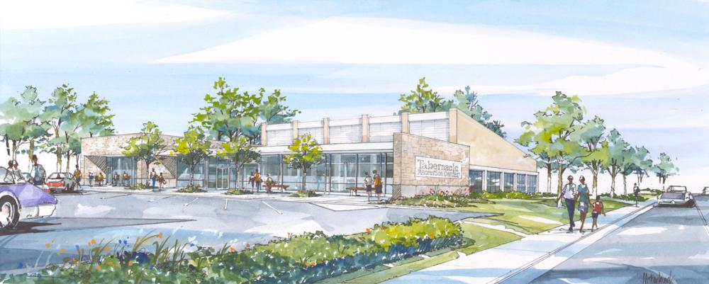Proposed Wellness Center Exterior