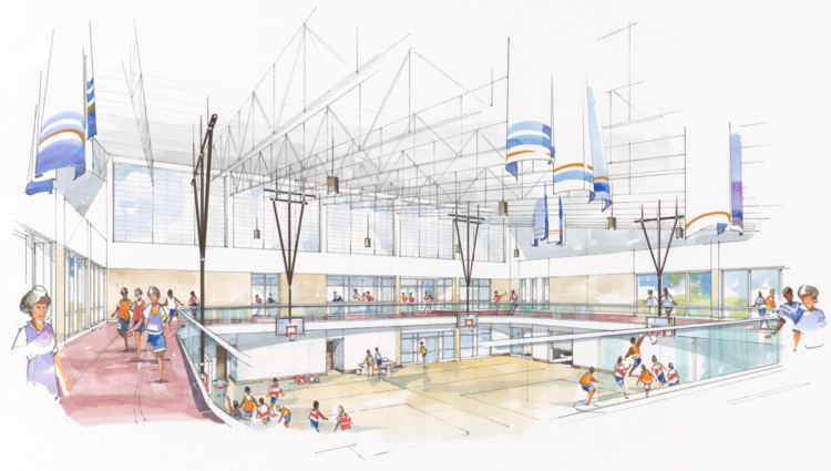 Proposed Wellness Center Interior