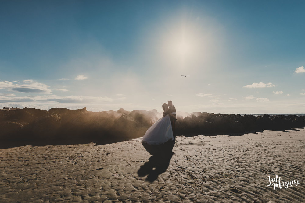 - Elisha and Andrew - a Military beach weddingThis woman is absolutely Fan-bloody-tastic, her work is absolutely stunning and is such a lovely person, my new hubs and I can't thank you enough Jade - roll on my photoshoot.