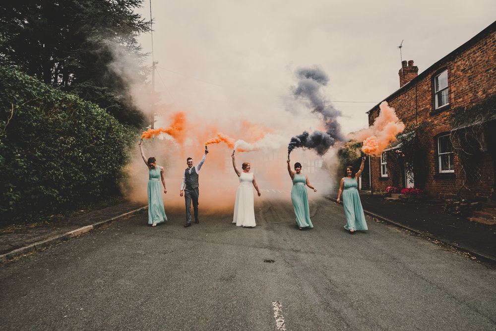WEDDING: A rustic DIY boho country wedding at the Cock o Barton