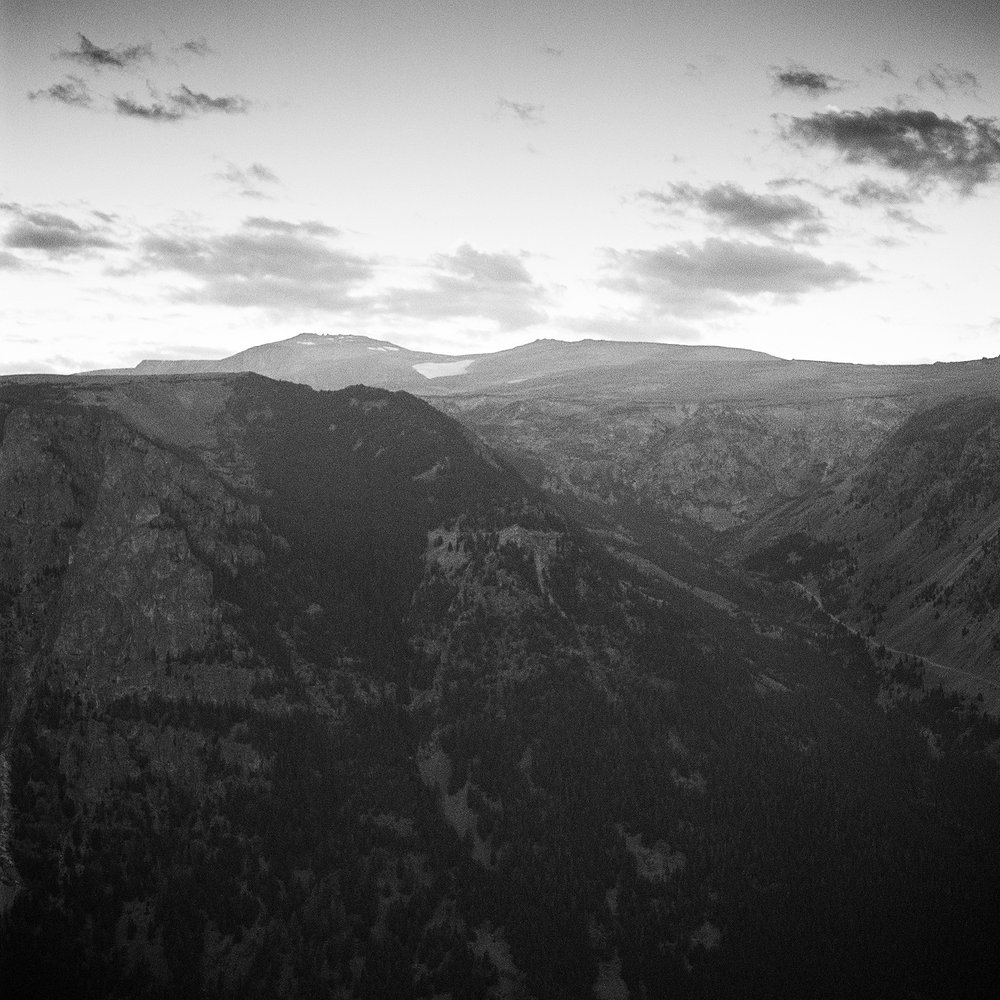 Dusk #1, Beartooth Mountains