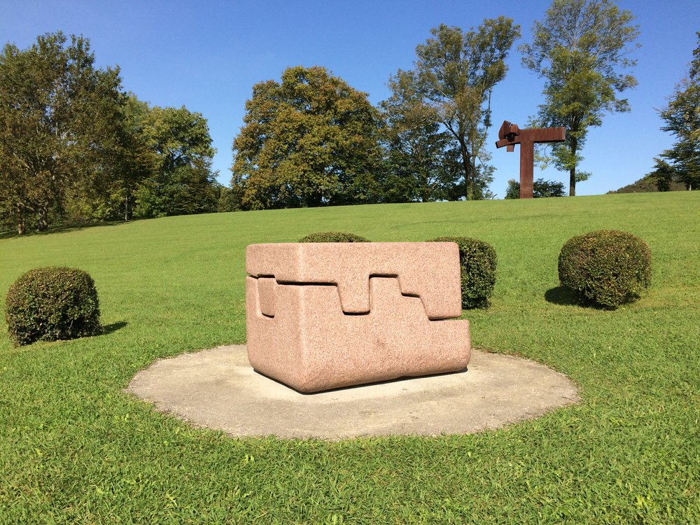 Eduardo Chillida - Eduardo Chillida 1924 - 2002.  No words - visit his foundation near San Sebastian if you can.  Museo Chillida Leku