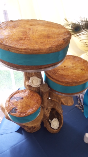 Nigel's Pork Pie Wedding Cake