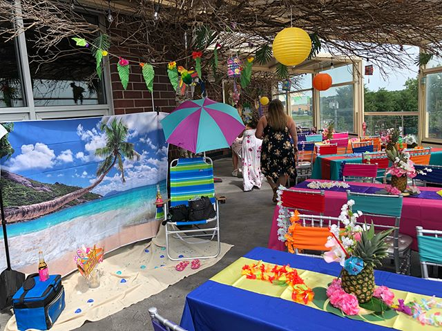 A Tropical Bridal Shower This Afternoon @mrciao_siny !!! #MrCiao #PrivateParties #DoYouCiao