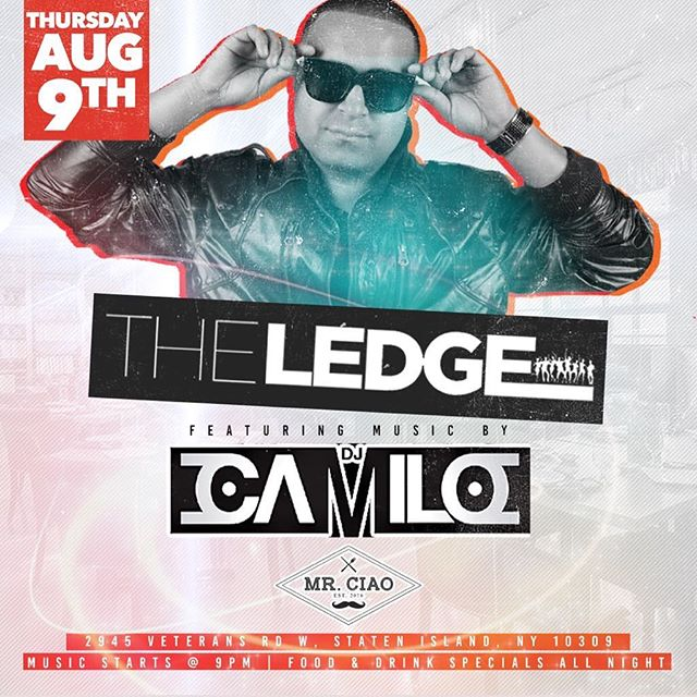 Save the date Thursday night August 9th @djcamilo Live !!!