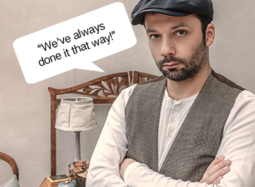 "We've Always Done it that Way!    by Rick Guilfoil, Founder, LogixStreet   How many times have you heard someone say, ""We've always done it that way!""?  Maybe a better question is how many times have you said it… or felt it?  Justin Wise is the author of   The Social Church: A Theology of Digital Communication   and has something to say about this phrase:     ""We've always done it that way!"" is more poisonous than ever.  Innovation isn't just a virtue, it's a requirement.""    I am not a proponent of changing everything.  I am a proponent of changing when change is called for.  We have to read the tea leaves, so the saying goes. We have to monitor and evaluate what we are doing.  With many of the digital tools like websites, social media, blogs, eNewsletters, etc. there are measuring tools built in.  The analytics provided in these tools will quickly show you what is working and what is not working.  Everything you do should be measurable.  If it is not, you should tread lightly. You may be expending a lot of energy and resources on something that is just not working or communicating well.  Have you had a newsletter that has gone out each week for the last 10-15 years (or longer)?  Now is the time to re-evaluate this tool.  Look for ways to improve it.  If change is required, be open to that.  I wouldn't be surprised if you start saying, ""We've been doing this wrong!""  What are some areas that you need to re-evaluate?  If you have links to any of these resources, please post in the comments.  I am sure many of the readers of this blog would be willing to give some feedback and offer some new ideas."