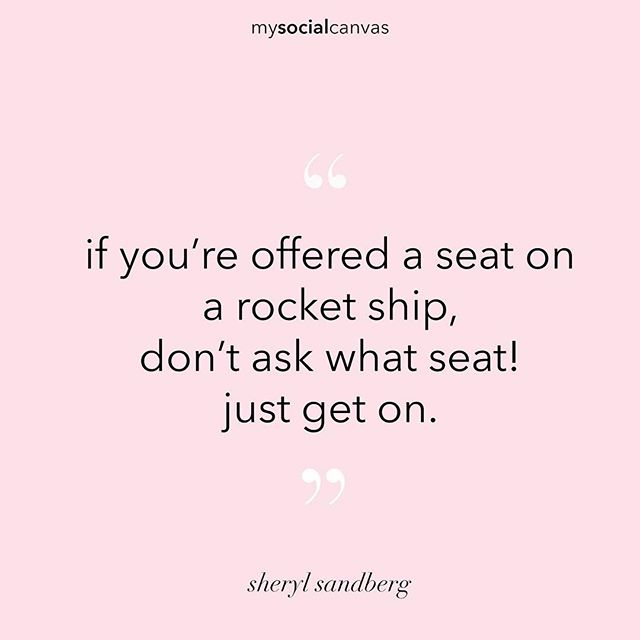 Inspiration to Design the Life and Career You Love from @sherylsandberg. 💯💪🏻#designalifeilove #sherylsandberg #mysocialcanvas