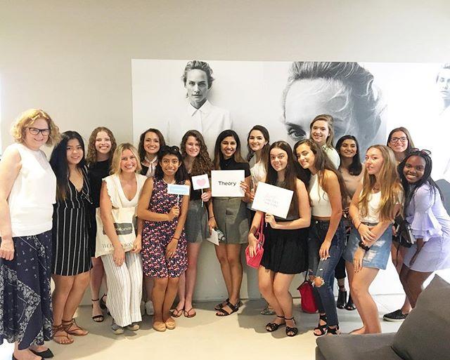 Throwback to our @mysocialcanvas Design the Life You Love Day at  @theory__! #mysocialcanvas #designalifeilove #jobshadows #mentorship #education