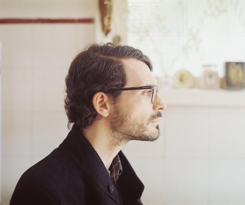 José Bértolo, Writer, portrait, 2017