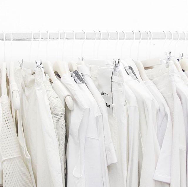 monochromatic wardrobe envy (@acnestudios) #whiteonwhite