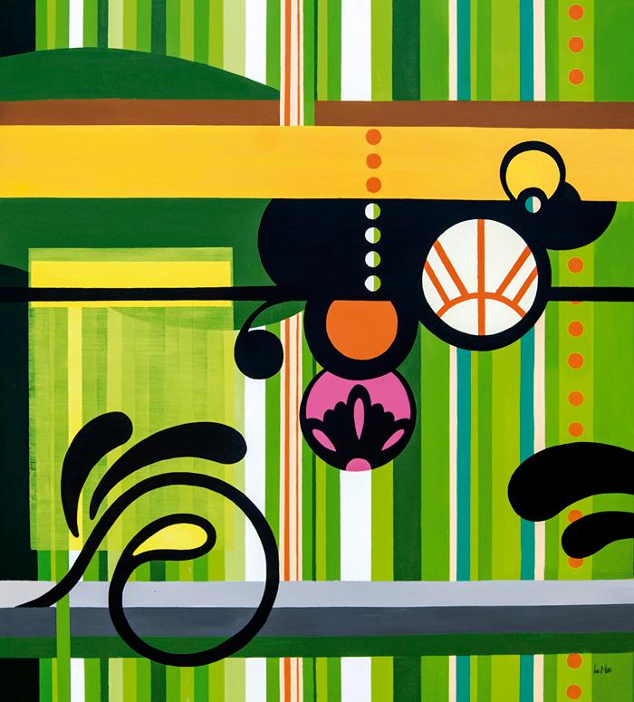 Mostarda Rajada, abstração