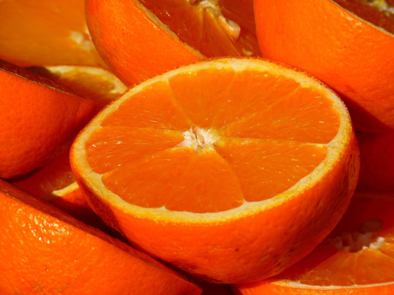 American Homestyle Kitchen Nikkis Orange Kitchen