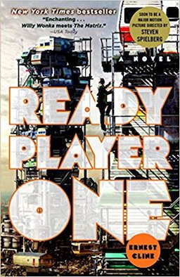 2.  Ready Player One  by Ernest Cline  Ahead of the forthcoming Spielberg adaptation (and by recommendation of a friend) I finally pulled my copy of  Ready Player One  off the shelf   and dived in, immediately glad I had done so.  Cline's nostalgia-soaked adventure captures the magic of the great pop-culture phenomena from the 80s and takes us on a (surprisingly, given the references) original story of Wade Watts as he hunts the elusive Easter Egg left behind by reclusive genius James Halliday, creator of the OASIS.  An absolutely thrilling ride, the pop-culture references and inspirations do more than simply prop up the story or act as shorthand between the writer and reader, nor are they cheap gimmicks. They are absolutely essential to the story and the wonderfully realised characters that inhabit Cline's world. It's an unapologetic love letter to a fascinating and important era in the realms of books, music, movies, TV shows and games.   Fresh, fun and inventive and almost my top pick of the year.