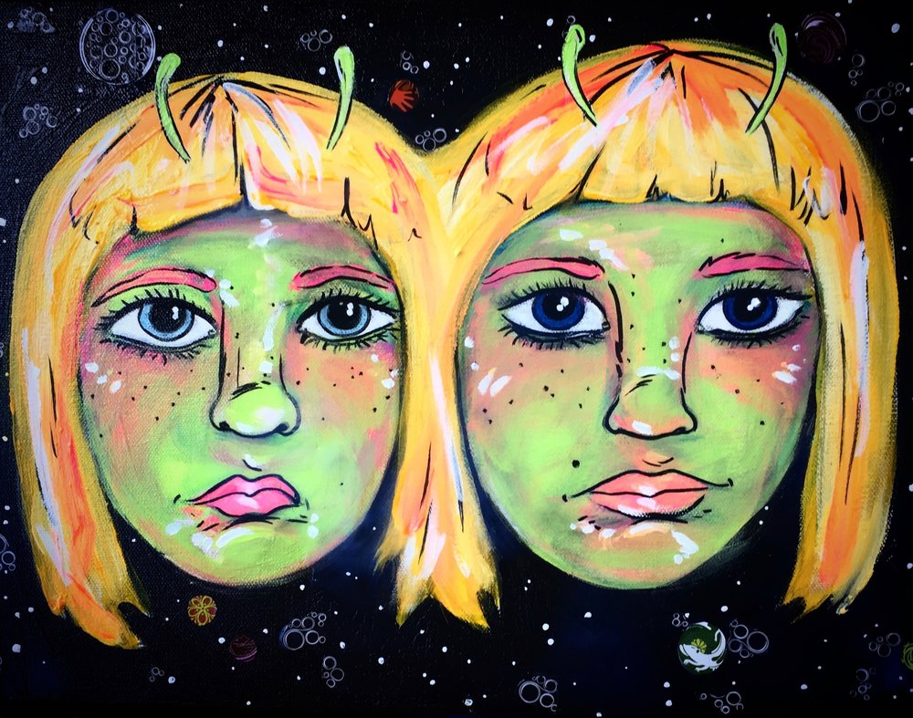 Twins (Sold)