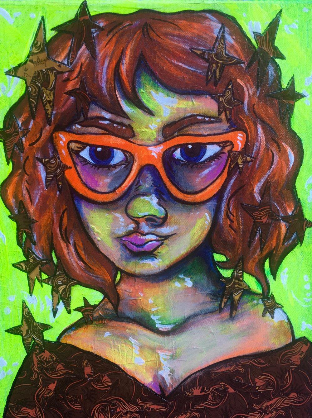 Orange Glasses (Sold)