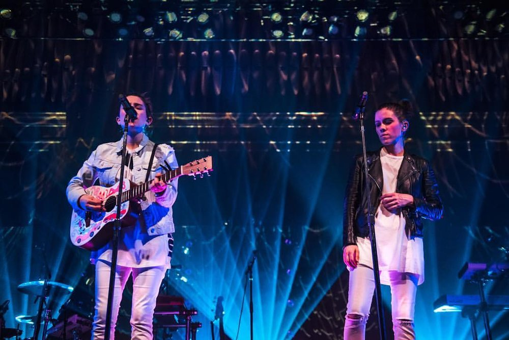 While in Orlando, Tegan and Sara support mental health counseling services for Pulse victims and LGBTQ young people