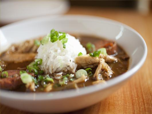Chicken + Smoked Andouille Gumbo