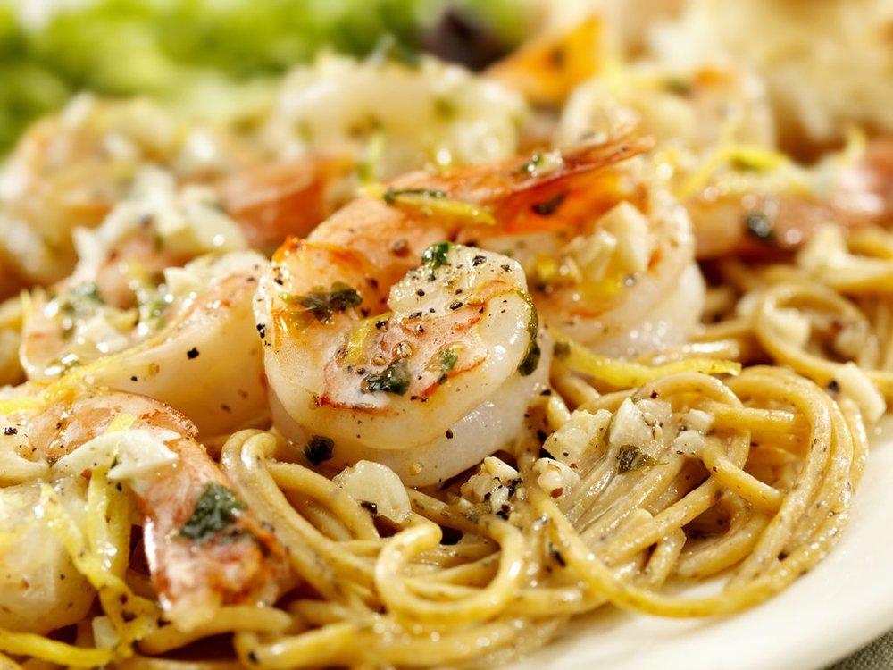 Shrimp + Tasso Pasta