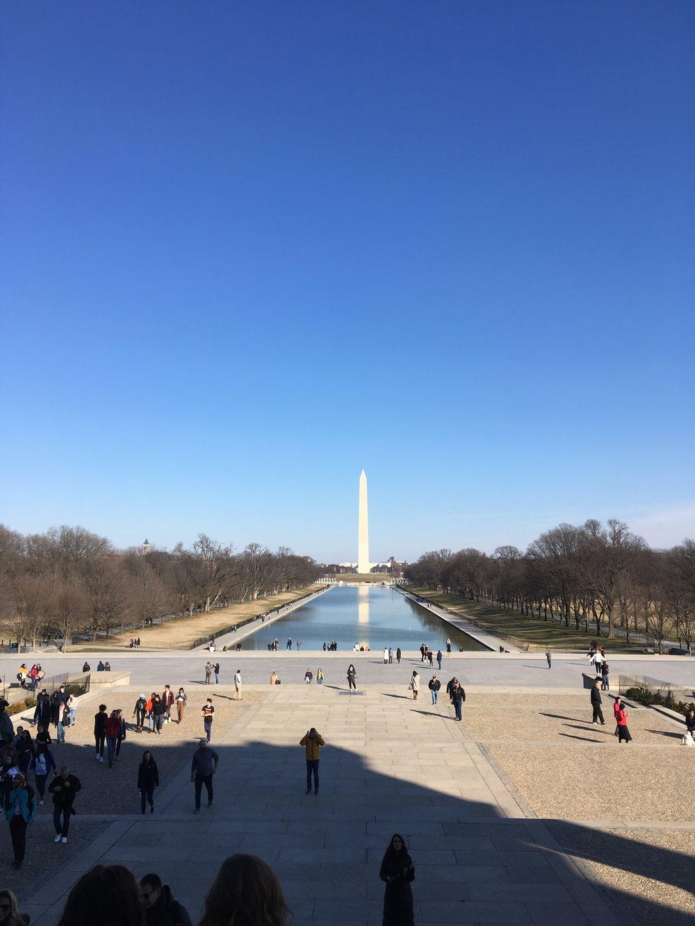 The Washington Monument…
