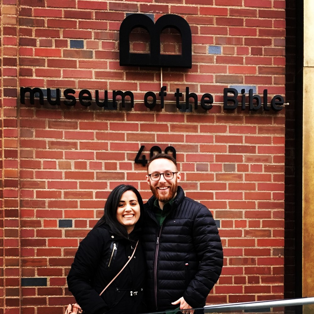 We also visited the Bible Museum for the first time. We weren't sure what to expect but it blew our minds!