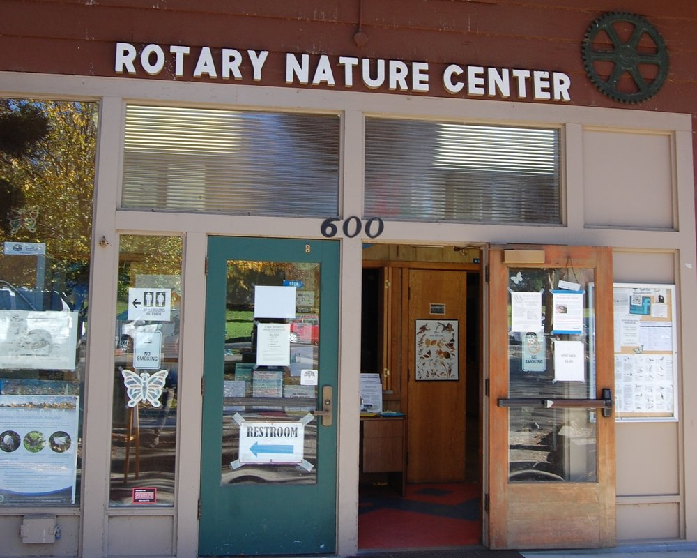 Photo of the entrance of the Rotary Nature Center interpretive museum