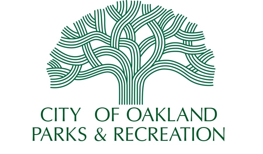 City of Oakland Parks & Recreation logo with green tree symbol