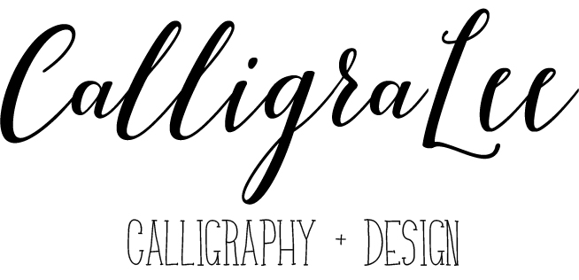 CalligraLee - Modern Calligraphy for your Celebrations