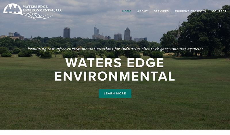 Waters Edge Environmental Consulting Website