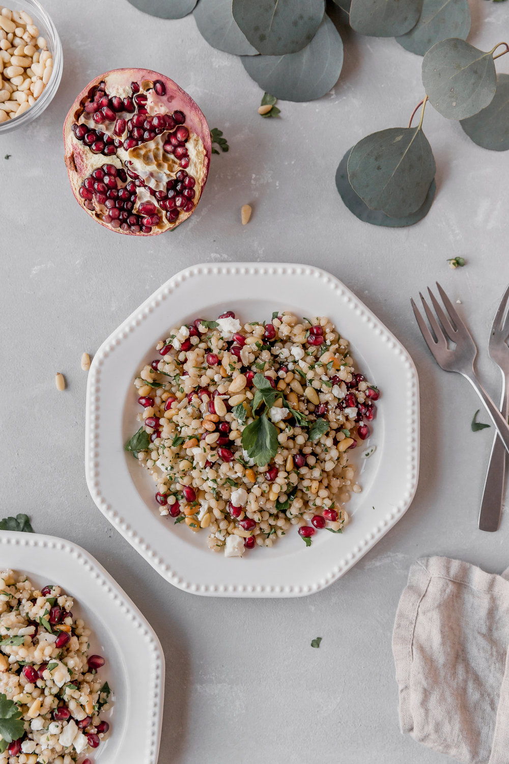 Couscous with Pine Nuts and Pomegranate || To Salt & See-9.jpg