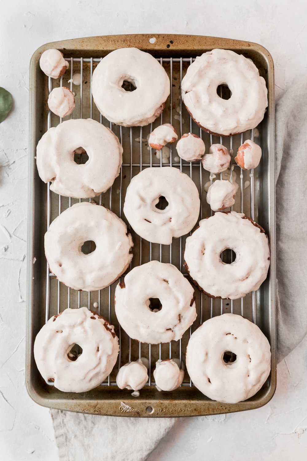 Brown Butter Old Fashioned Sour Cream Donuts || To Salt & See-3.jpg