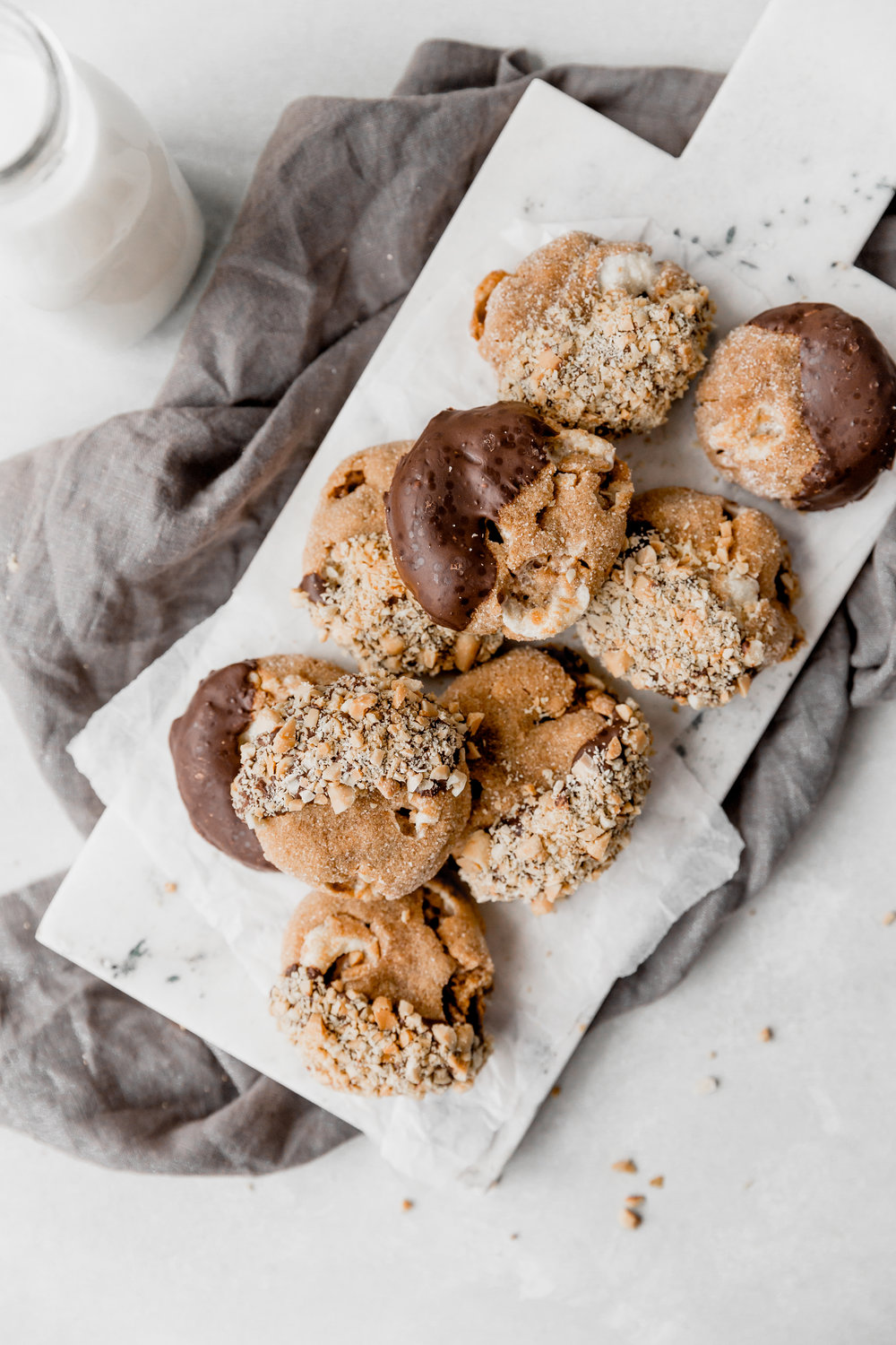 Peanut Butter Smores Cookies || To Salt & See-2.jpg