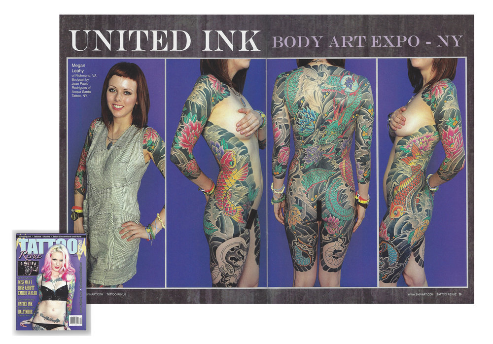 Featured in a American Tattoo Magazine 2013.