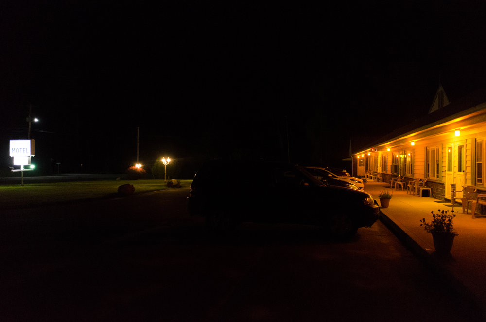 It started fortuitously - after a long five hour drive from Brooklyn to Middlebury Vermont with my friend Jeff Sereni we pulled into a dark motel parking lot at the same moment as our compatriot Simon Fong who had completed a similarly long drive South from Montreal.