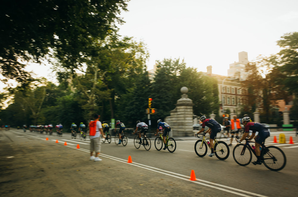7:30AM: Cheering on what is left of the squad after  I got dropped in Central Park