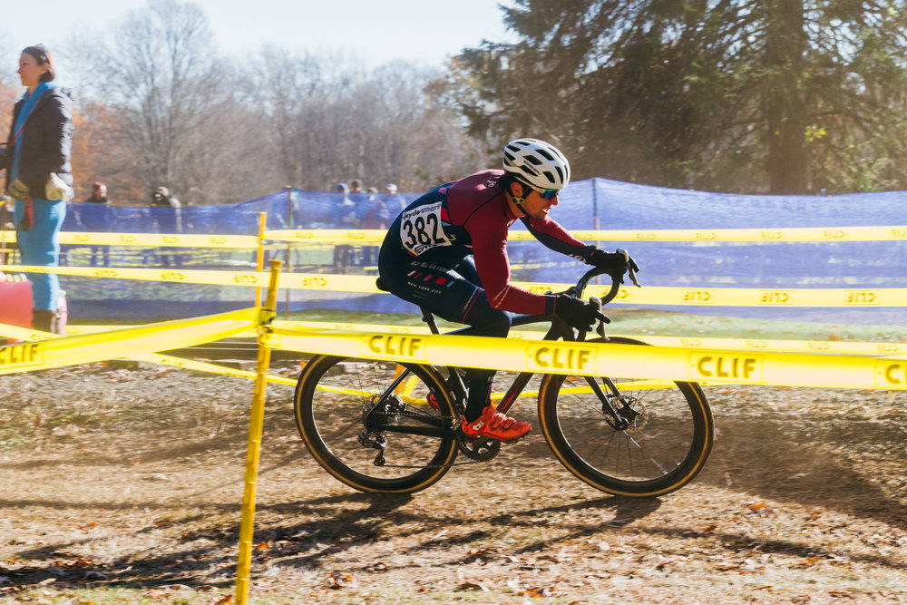 Daghan Perker in action at  Noho CX 2017 .
