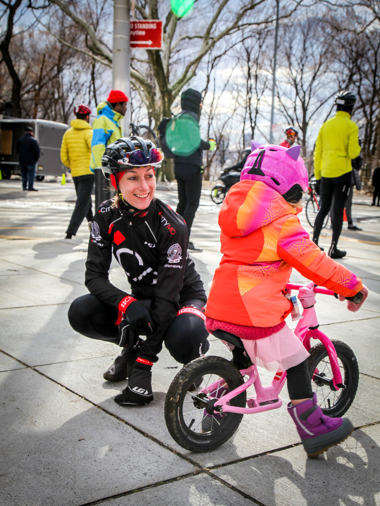 Inspiring the next generation of female lady racers. Photo by Bicycle Racing Pictures
