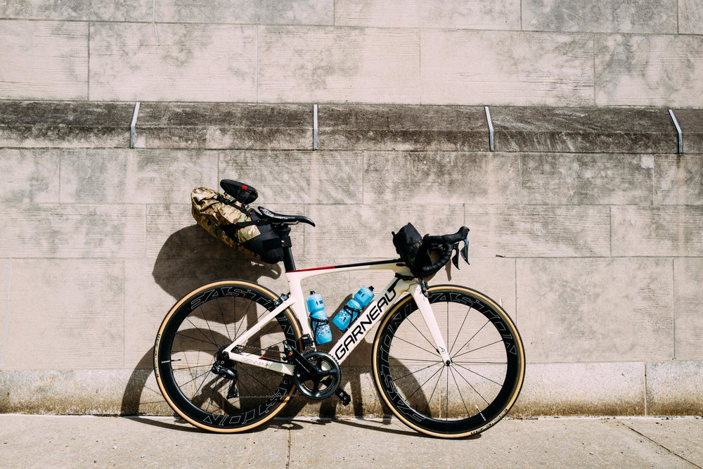 The Silca Seat Capsule adapted for bike packing purposes